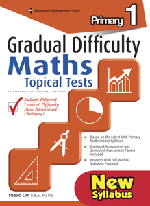 Gradual Difficulty Maths Topical Tests 1