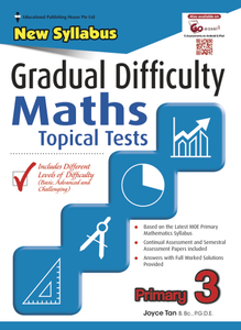 Gradual Difficulty Maths Topical Tests 3