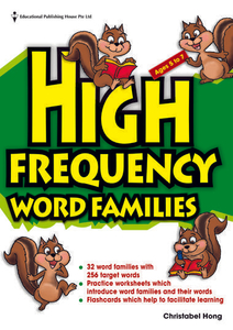High Frequency Word Families