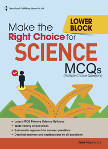 Make the Right Choice for Science MCQs - Lower Block Pri 3/4