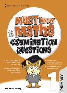 Must Know Maths Examination Questions 1