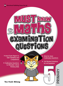 Must Know Maths Examination Questions 5 (New Syllabus)