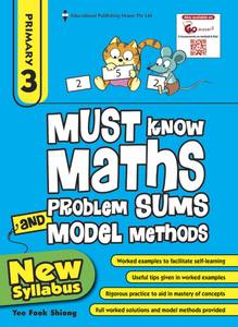 Must Know Maths Problem Sums And Model Methods 3