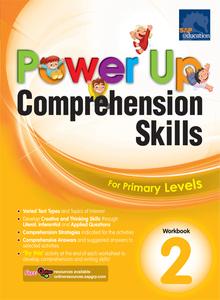 Power Up Comprehension Skills Workbook 2