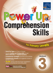 Power Up Comprehension Skills Workbook 3