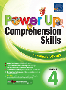 Power Up Comprehension Skills Workbook 4