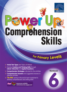 Power Up Comprehension Skills Workbook 6
