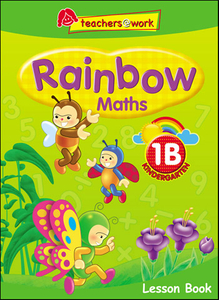 Rainbow Maths Lesson Book K1B