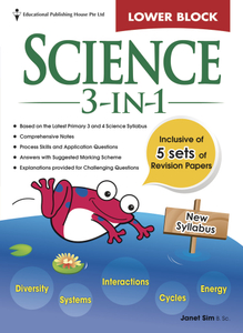 Science 3-in-1 - Lower Block Pri 3/4