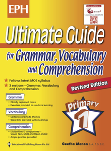 Ultimate Guide For Grammar, Vocabulary & Comprehension 1