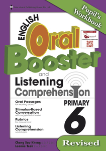English Oral Booster & Listening Comprehension Package 6