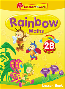 Rainbow Maths Lesson Book K2B