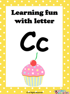 Learning fun with letter Cc!