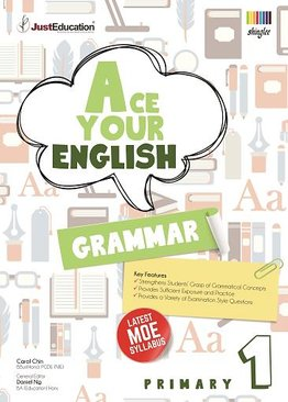 Ace Your English Grammar Primary 1