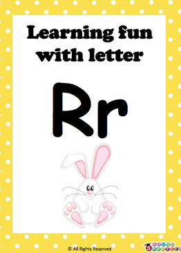 Learning Fun with letter Rr!