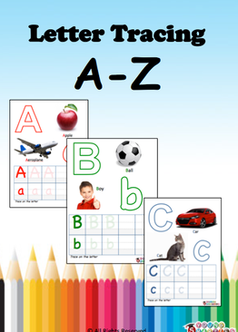 Letter Tracing A-Z