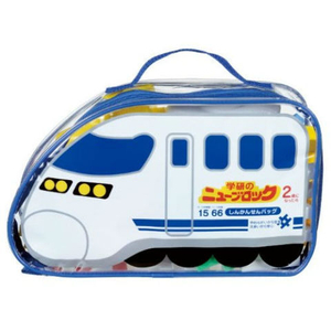 Gakken Shinkansen Set Soft Bag 66pcs