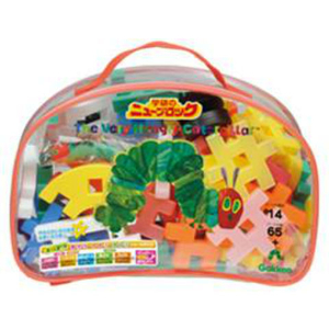 Gakken Newblock The Very Hungry Caterpillar Bag 66pcs