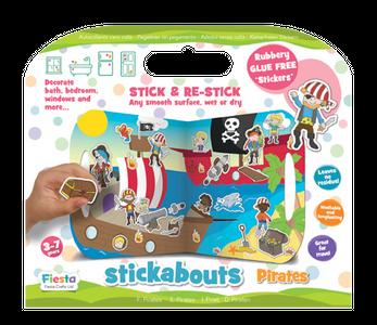 Pirates Stickabouts