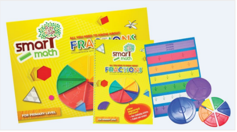 Math Skills on Fractions for Lower Primary Play N Learn Learning Resource