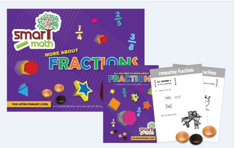 Play N Learn Smart Mathematics Fractions for Upper Primary