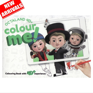 4D Colouring Book - Octaland Color Me !