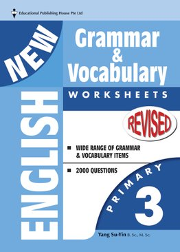 New English Grammar & Vocab Worksheet - Primary 3