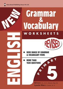 New English Grammar & Vocab Worksheet - Primary 5