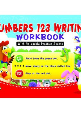 Numbers 123 Writing WorkBook
