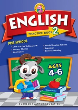 Pre-School English Practice Book 2 (Age 4-6)