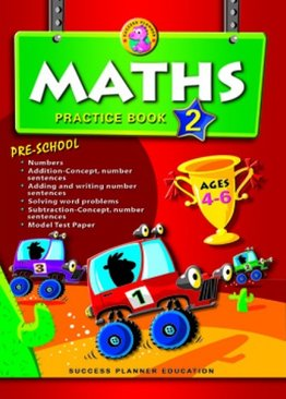 Pre-School Maths Practice Book 2 (Age 4-6)