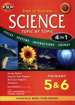 Science Step to Success (4-in-1) - Primary 5 & 6