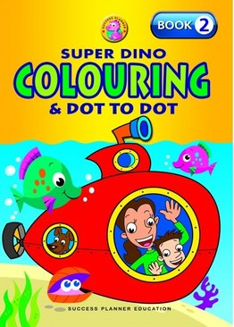 Super Dino Colouring Book 2