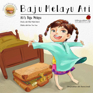 Bilingual Pack (Baju Melayu Ati & Makan Time)