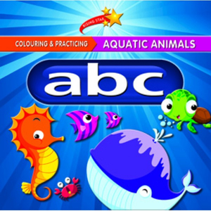 Colour and Practise Aquatic Animals