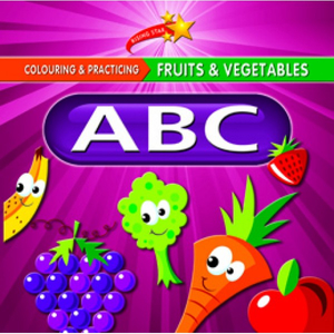 Colour and Practise Fruits & Vegetables