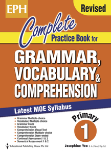 Complete Practice Book For Grammar, Vocabulary & Comprehension 1