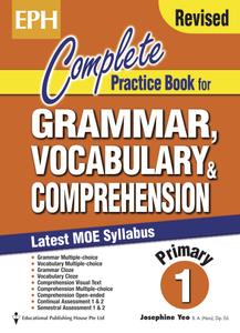 Complete Practice Book For Grammar, Vocabulary & Comprehension 1