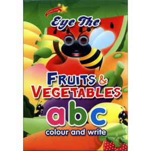 Eye the Fruits & Vegetables - abc Colour & Practice