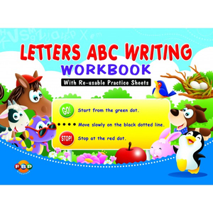 Letters ABC Writing WorkBook