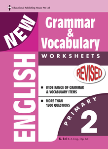 New English Grammar & Vocab Worksheet - Primary 2
