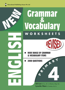 New English Grammar & Vocab Worksheet - Primary 4