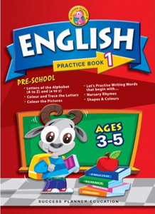 Pre-School English Practice Book 1 (Age 3-5)