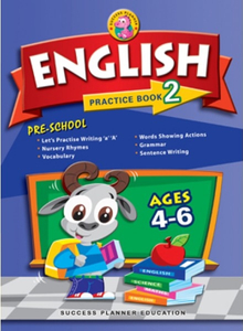 Pre-School English Practice Book 2 (Age 4-6)