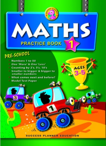 Pre-School Maths Practice Book 1 (Age 3-5)