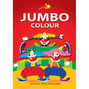 Rising Star Jumbo Colouring Book
