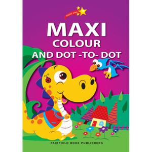 Rising Star Maxi Colouring Book