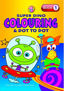 Super Dino Colouring Book 1