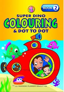 Super Dino Colouring Book 2
