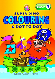 Super Dino Colouring Book 3